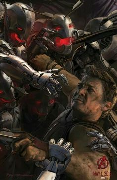 Age of Ultron concept art from Marvel ahead of San Diego Comic Con