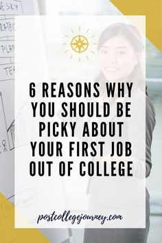 Preparing for life after college can be scary. That's why we put together this list of tips and things to take into consideration when looking for your first job after college. #PostCollegeJourney #CareerAdvice #YoungProfessional