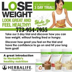 Lose weight 773-954-7955