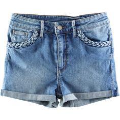 H&M Denim shorts ($23) ❤ liked on Polyvore