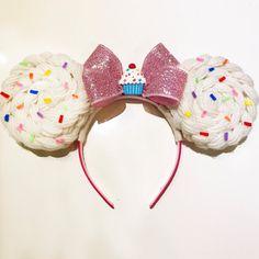 Minnie Mouse Cupcake Ears