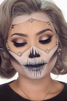 Halloween makeup https://www.facebook.com/groups/skullobsession/