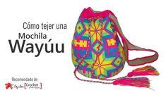 Las mochilas wayúu tienen un encanto único, por eso son tan populares. Muchas me han pedido un tutorial para hacer estas bellas mochilas originarias
