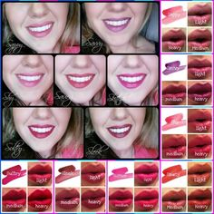 Stiff Upper Lip lip stain! Last all day & night with no touch ups! Available in 7 different colors & you can apply as little or as much as you want to get the color you desire! #Waterproof  #Younique #ClickImageToShop #Questions #EmailMe sarahandbrianyounique@gmail.com or comment below