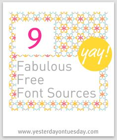 Font Resources