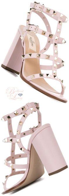 Brilliant Luxury ♦ Valentino 'Rockstud' Sandals