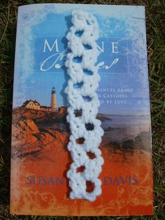 Scrap Yarn Crochet: Free White Lace Bookmark Crochet Pattern