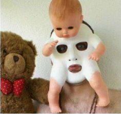 Scary Halloween Mask!