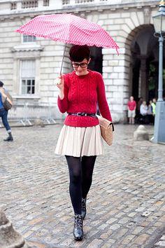 Violaine Bernard, fashion director at Velour    London fashion week