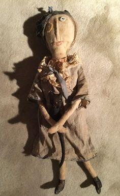 Ann Small Out of the Attic Prim cloth doll