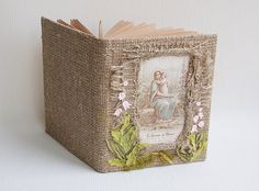 Mary and child  diary journal  23 cm x 18 cm  9.1 x by Indrasideas, $58.00