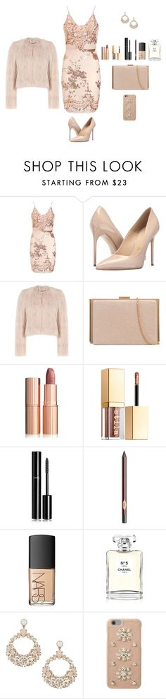 """""""Untitled #76"""" by witbeyondm ❤ liked on Polyvore featuring Massimo Matteo, RED Valentino, Stila, Chanel, Charlotte Tilbury, NARS Cosmetics, Kate Spade and MICHAEL Michael Kors"""