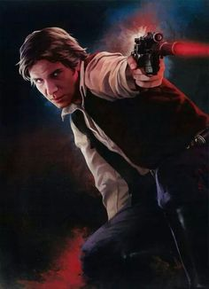 """Han Solo - """"Never tell me the odds"""" - Star Wars Star Wars Film, Star Wars Han Solo, Star Wars Fan Art, Han Solo And Chewbacca, Han And Leia, Geeks, Harrison Ford Han Solo, Edge Of The Empire, Star Wars Pictures"""
