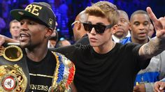 IN PICTURES: It was a boxing match fans and celebrity admirers were counting down the days to. Stars like Justin Bieber and Lil Wayne were among the few who made it out to Las Vegas' MGM Grand Arena to watch Floyd Mayweather and Camelo Alvarez square off. Check out the highlights here.