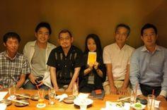 素敵な時間を過ごしました。左から、青野さん、山田さん、晴山さん、小熊さん、松本さん、関口(私)