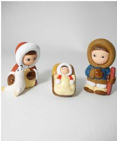 Inuit Nativity - photo from notreperenotremere