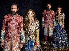 Blog Post: The Big Fat Cricket Wedding - Yuvraj Hazel Sikh Wedding #Indiandesignerclothes #bollywoodweddings #bollywoodclothes #indianweddings