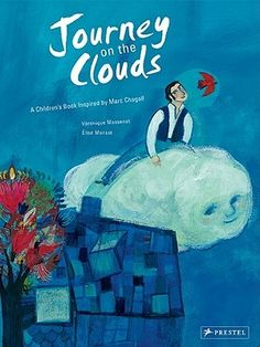 """Inspired by Chagall's masterpiece, a world of colour and imagination awaits the readers of this book. Paintings based on Chagall's striking palette and elegant lines help tell a simple yet poetic story."" Journey on a Cloud by Veronique Massenot Art Books For Kids, Best Children Books, Childrens Books, Marc Chagall, Nocturne, Tour Eiffel, Rain Illustration, 7 Arts, Deep Space Sparkle"