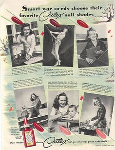alizarine: The degeneration ...and rise, of nail polish ads