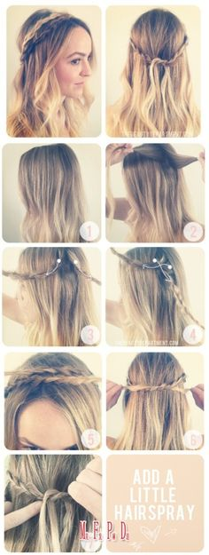 Double braid band trick