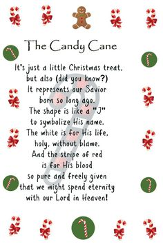 Thoughtful Thursdays Candy Cane Poem Printable - The world's most private search engine Christmas Quotes, Christmas Treats, Holiday Treats, 10 Commandments Craft, Candy Cane Poem, Candy Cane Legend, Preschool Christmas Crafts, Kids Crafts, Candy Grams