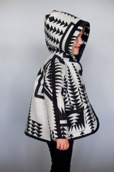 could ake the pattern myself it is a siply hooded jacket wil look through my own patern NITUNA REVERSIBLE GIRLS JACKET FIGGY'S PDF ePATTERN - Little Girl Fashion, My Little Girl, My Baby Girl, Kids Fashion, Baby Boys, The Rok, Pull Jacquard, Ethno Style, Outfits Niños