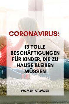 Das Cornavirus hat Deutschland fest im Griff und wir sind alle mehr oder weniger betroffen. Eltern, die ihre Kinder jetzt fünf Wochen lang zu Hause betreuen müssen, ist das eine große Herausforderung – besonders, wenn die Eltern zusätzlich Homeoffice machen müssen. Wir haben für alle Mütter und natürlich auch Väter ein paar Vorschläge für Beschäftigungen und Spiele zu Hause. Cook, Recipes, Crowns, Kids Converse, Games For Children, Family Life, Kid Games, Too Busy
