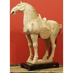 Ceramic Tang Horse ChinaFurnitureOnline http://www.amazon.com/dp/B00OA9ZKBG/ref=cm_sw_r_pi_dp_noDYub1JCNKM4