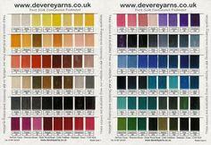DeVere Yarns - Pure Silk Embroidery Thread