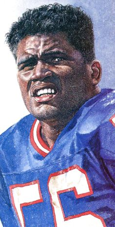 Lawrence Taylor by Merv Corning