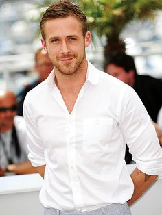 Ryan Gosling..I fell in love with him in the Notebook