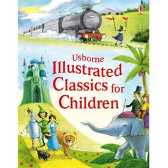 """""""Illustrated classics for children"""" at Usborne Children's Books Read Aloud Books, Good Books, The Canterville Ghost, Sims, Thing 1, Book People, Afraid Of The Dark, Parenting Books, Latest Books"""