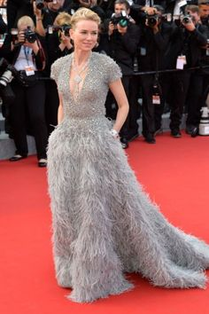 Naomi Watts in Elie Saab couture.