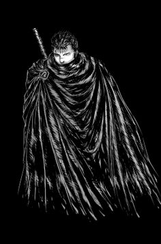 Guts - Berserk fan art from http://cr10blog.blogspot.com/