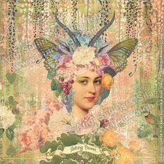 Duirwaigh Studios -  Talking Flower - Alice in Wonderland