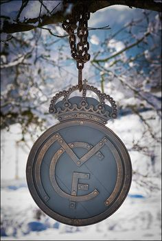 Real Madrid mano forjada decoración de paredes logo del Real