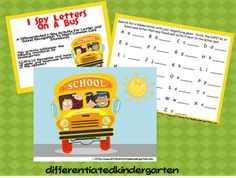I-Spy Differentiated Instruction AND A Freebie!!