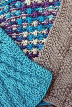Kitchen Knitted Dishcloth 3 - set of 3   Really loving these dishcloths. I see all sorts of possibilities.