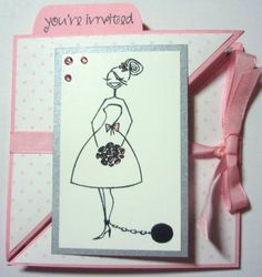 bridal shower trifold closed by broncomom - Cards and Paper Crafts at Splitcoaststampers