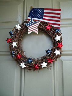 This Little Light: Star Spangled Door Decor