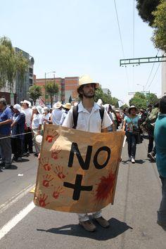 Marcha por la Paz, México DF, 2011