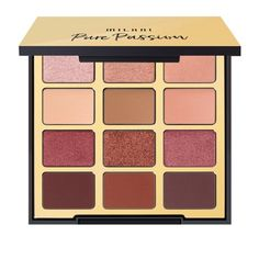 Milani 04 Pure Passion Eyeshadow Palette Authentic for sale online Best Eyeshadow Palette, Eye Palette, Makeup Palette, Eyeshadow Pallettes, Colourpop Eyeshadow Palette, Colourpop Cosmetics, Makeup Cosmetics, Eye Makeup Tips, Eyeshadow Makeup