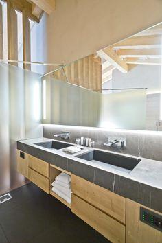 View the full picture gallery of Hotel De Rougemont Design Awards, Interior Design, Mirror, Architecture, Furniture, Bathrooms, Home Decor, Interiors, Nest Design