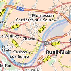 Carte détaillée Paris - plan Paris - ViaMichelin