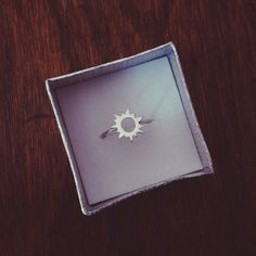 Sterling Silver Sun Ring by lilacsinthesunshop on Etsy, $23.00