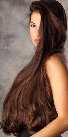 Long Silky Hair, Long Black Hair, Beautiful Long Hair, Gorgeous Hair, Blonde Beauty, Hair Beauty, Arabian Women, Classy Hairstyles, Natural Hair Styles