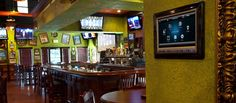 #Control4 touch screens and remotes allow for the Tilted Kilt staff to seamless manage their entire entertainment system, providing an unparalled customer experience.