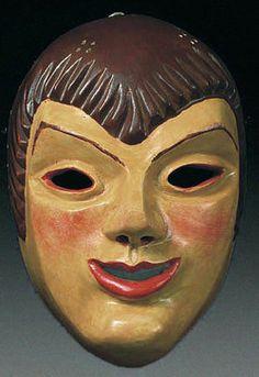 European mask - German mask