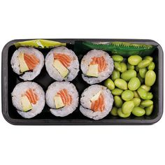 Wholesale retail fresh Japanese sushi boxes bento packs wraps  ... ❤ liked on Polyvore featuring food, fillers, food and drink, food & drinks and sushi