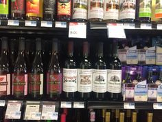 Nearwood wines at Knoxville Hy-Vee Wine & Spirits